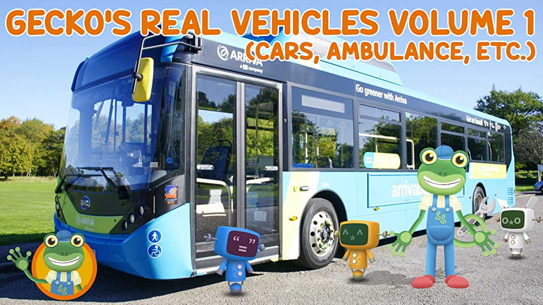Gecko's Garage Real Vehicles Volume 1 (Cars, Ambulance, etc) on Amazon Prime Instant Video UK