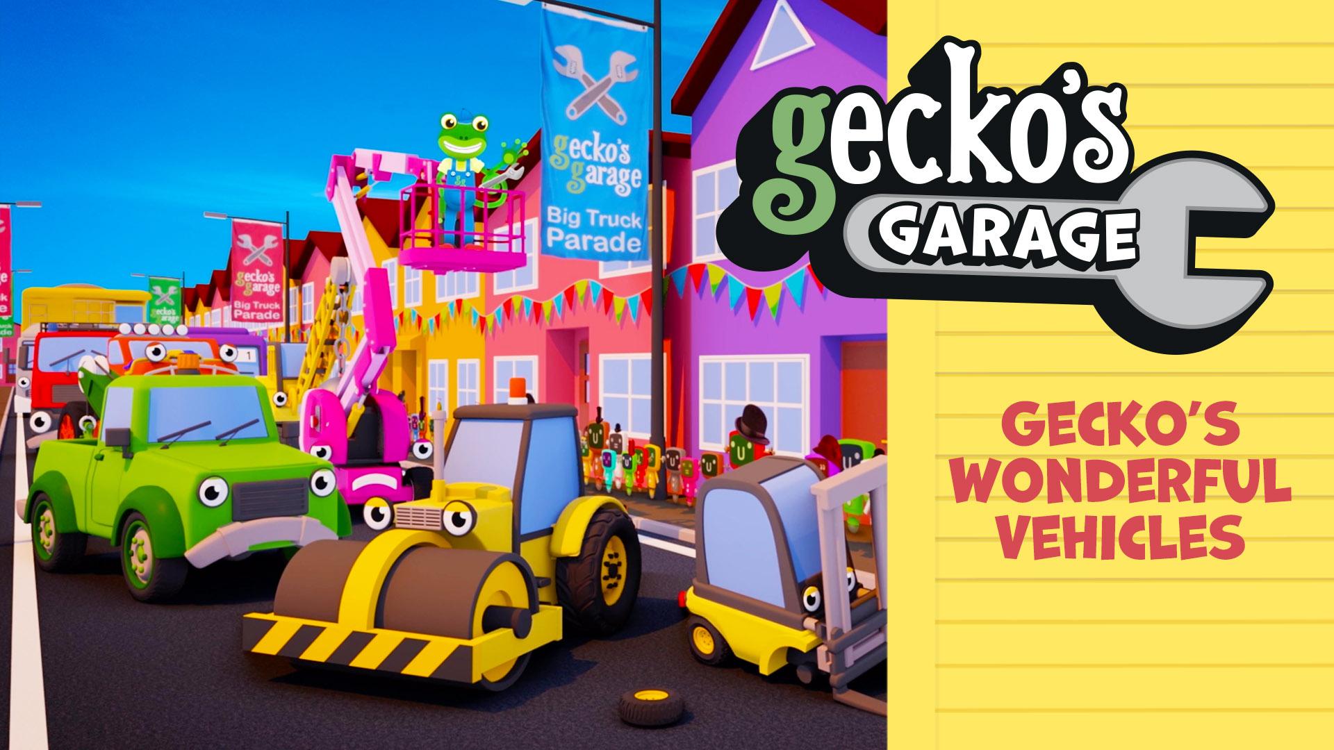 Gecko's Wonderful Vehicles