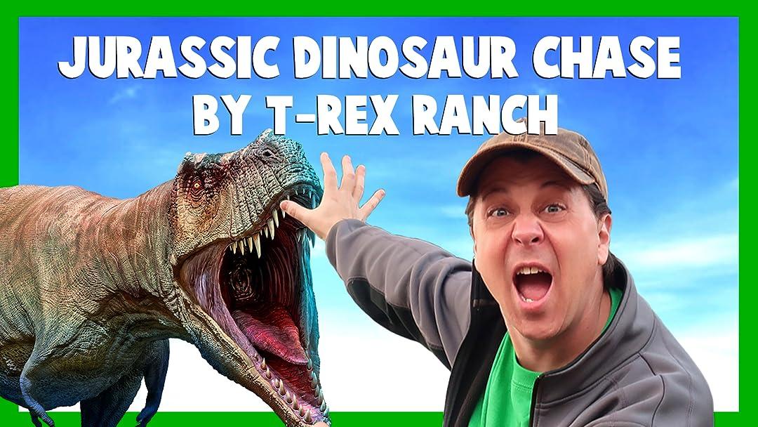 Jurassic Dinosaur Chase by T-Rex Ranch