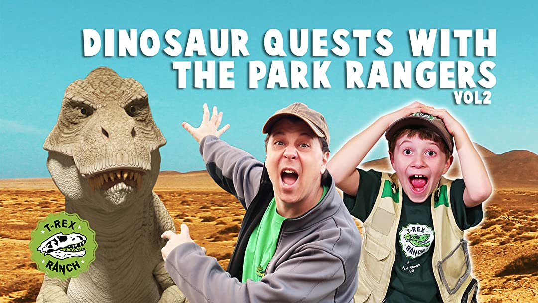 Dinosaur Quests with The Park Rangers by T-Rex Ranch - Season 2
