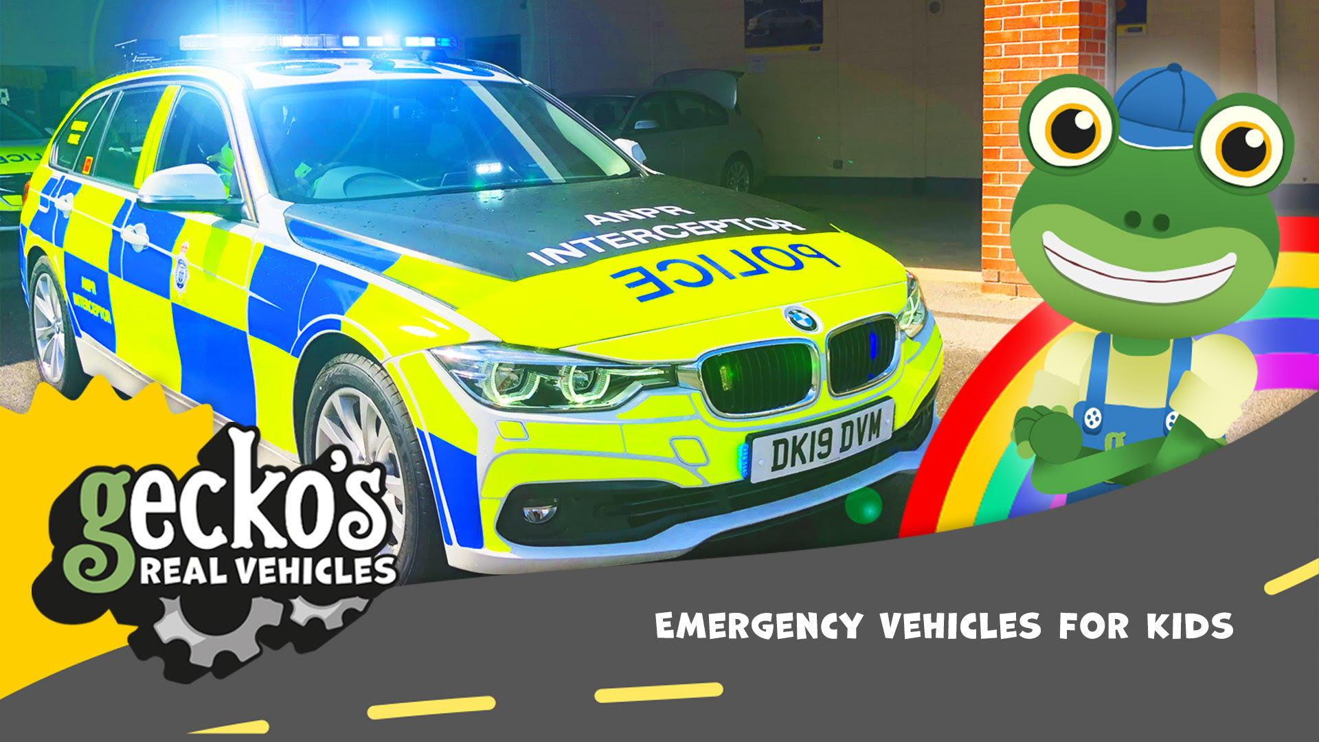Emergency Vehicles for Kids - Gecko's Real Vehicles