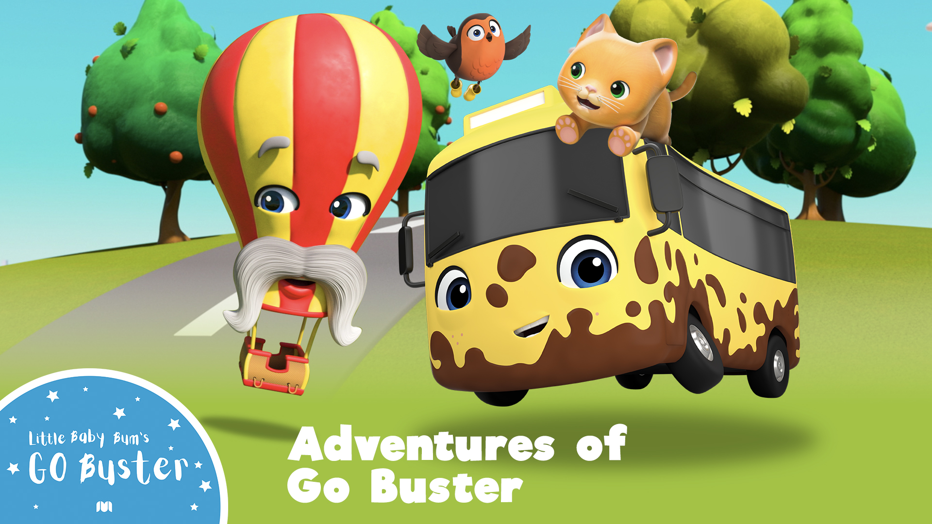 Go Buster - Adventures of Go Buster (Made by Little Baby Bum)
