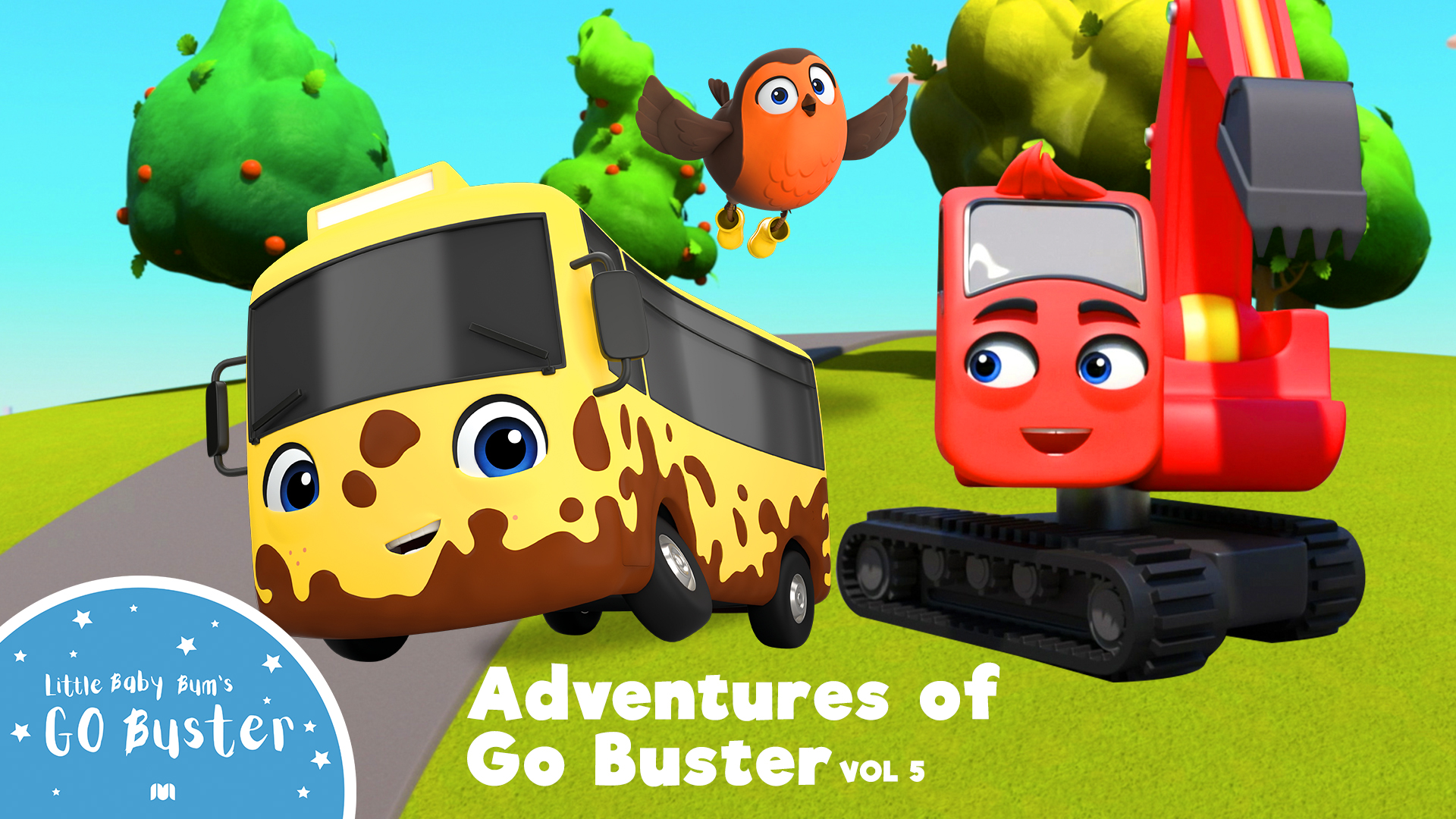 Go Buster - Adventures of Go Buster (Made by Little Baby Bum) - Season 5