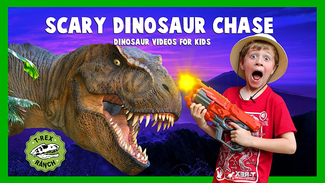 T-Rex Ranch - Scary Dinosaur Chase - Dinosaur Videos for Kids on Amazon Prime Instant Video UK