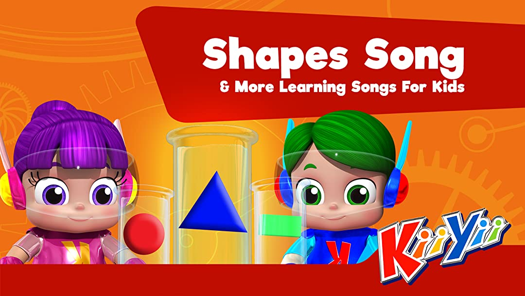 Shapes Song & More Learning Songs For Kids - KiiYii