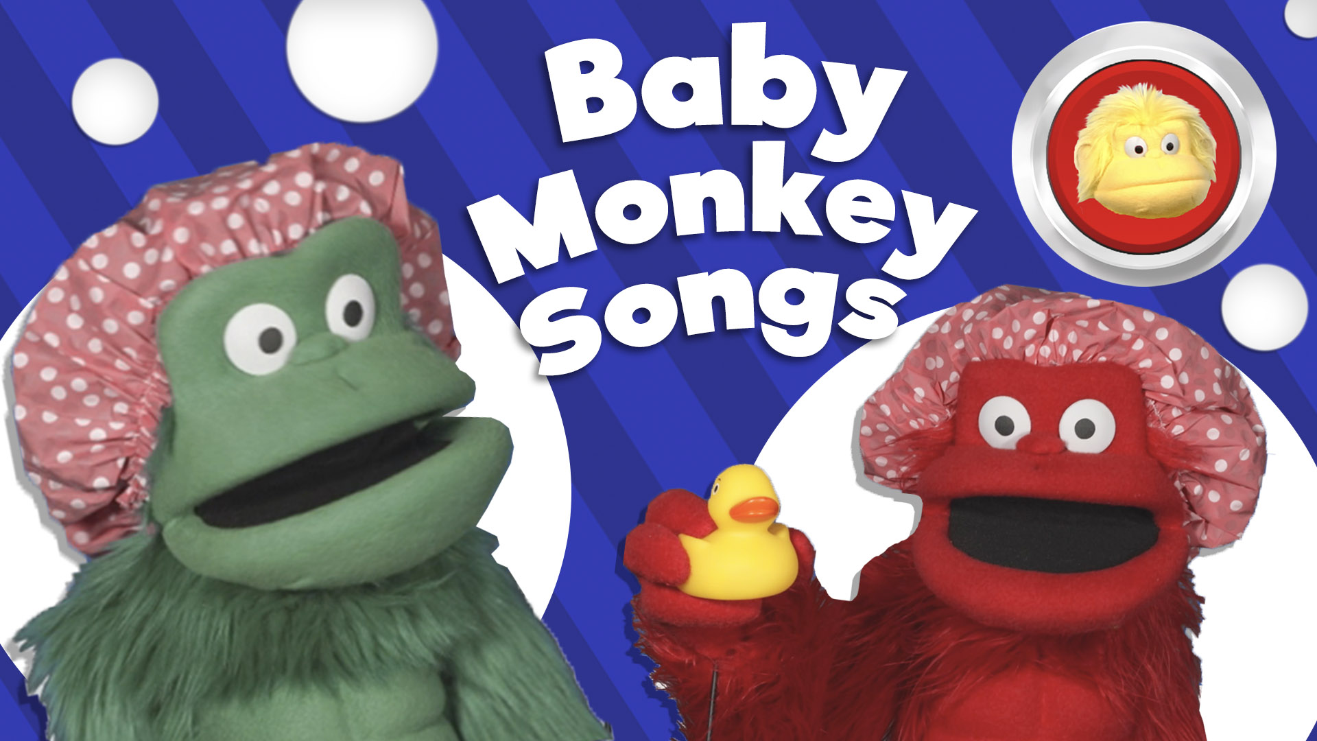 Big Red Button - Baby Monkey Songs