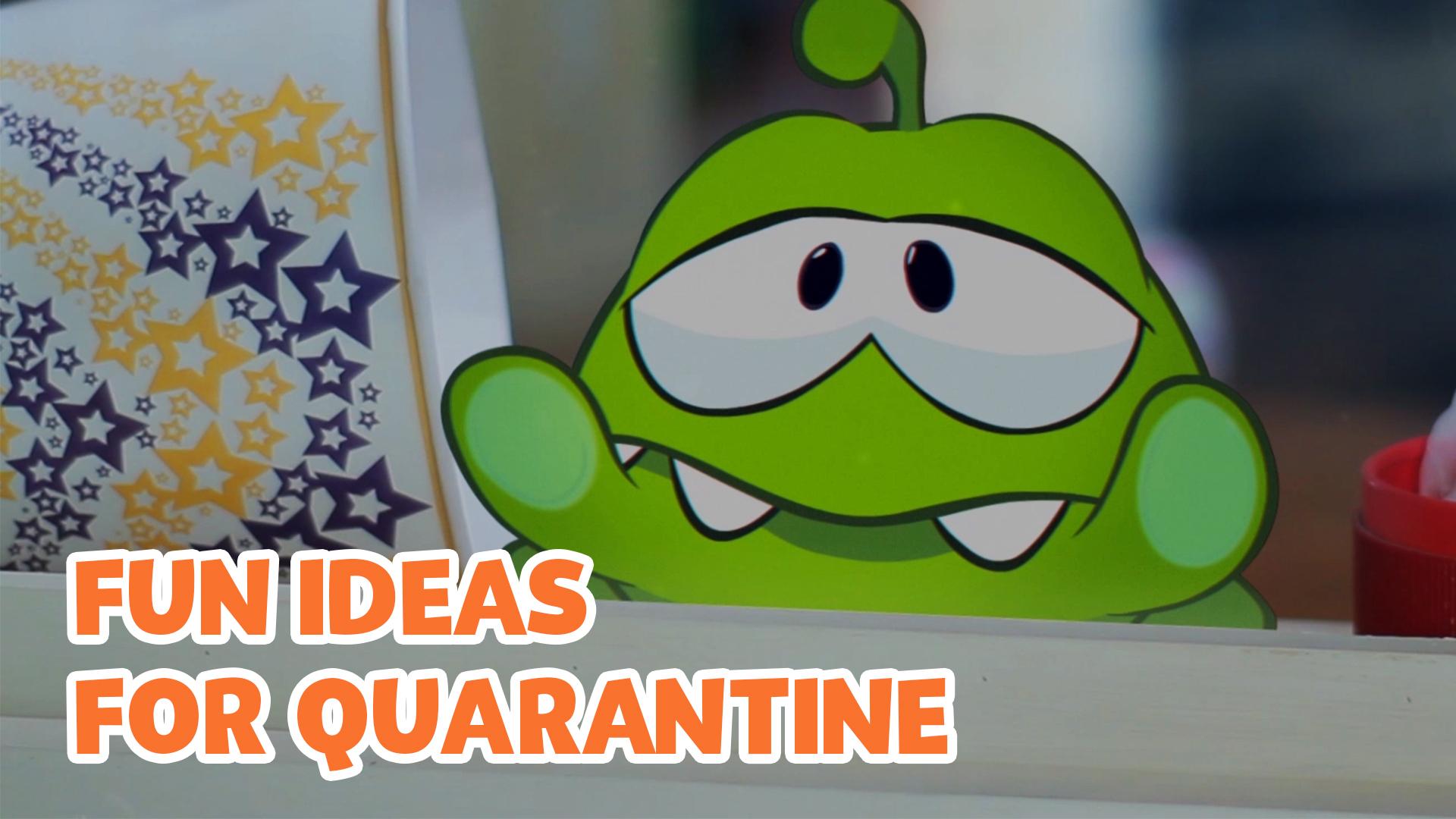 Clip: Om Nom Stories - Fun Ideas for Quarantine