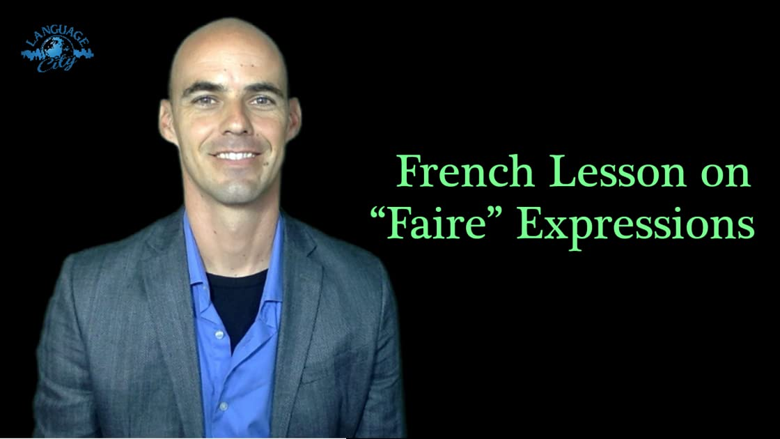 "French lessons on""faire"" expressions on Amazon Prime Instant Video UK"
