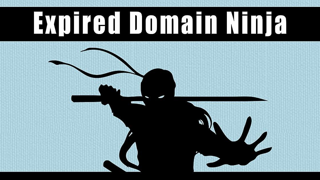 Expired Domain Ninja on Amazon Prime Instant Video UK