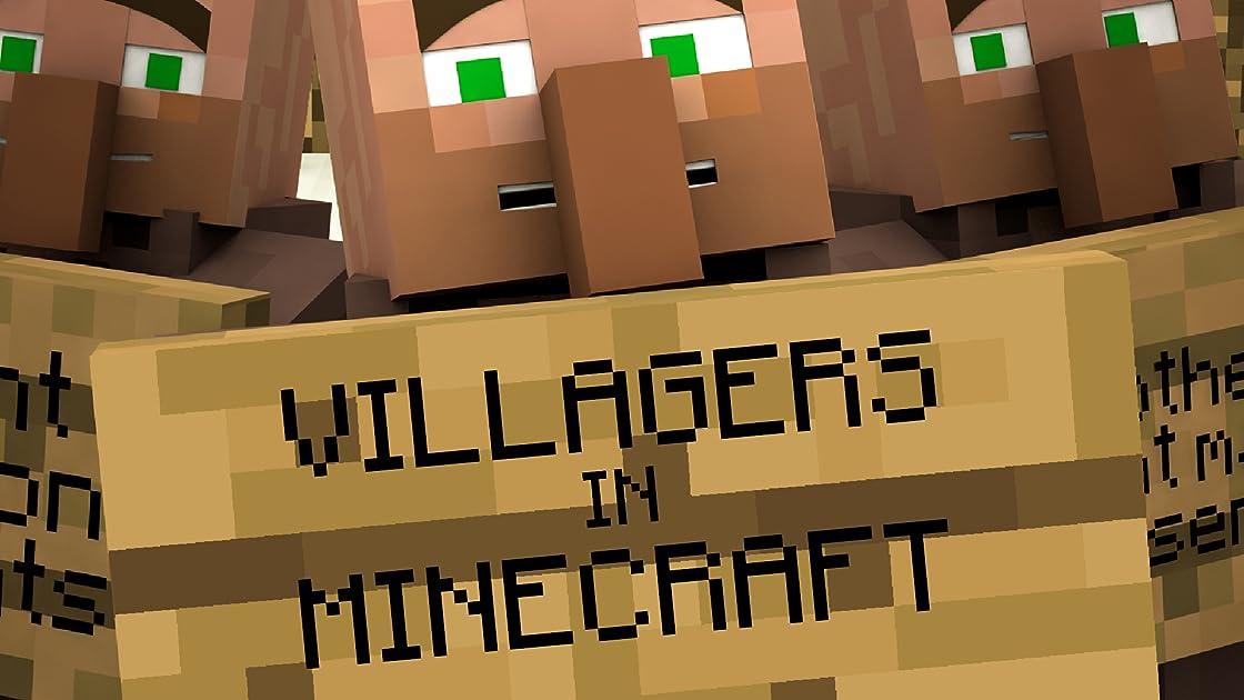 Clip: Villagers in Minecraft - Season 1