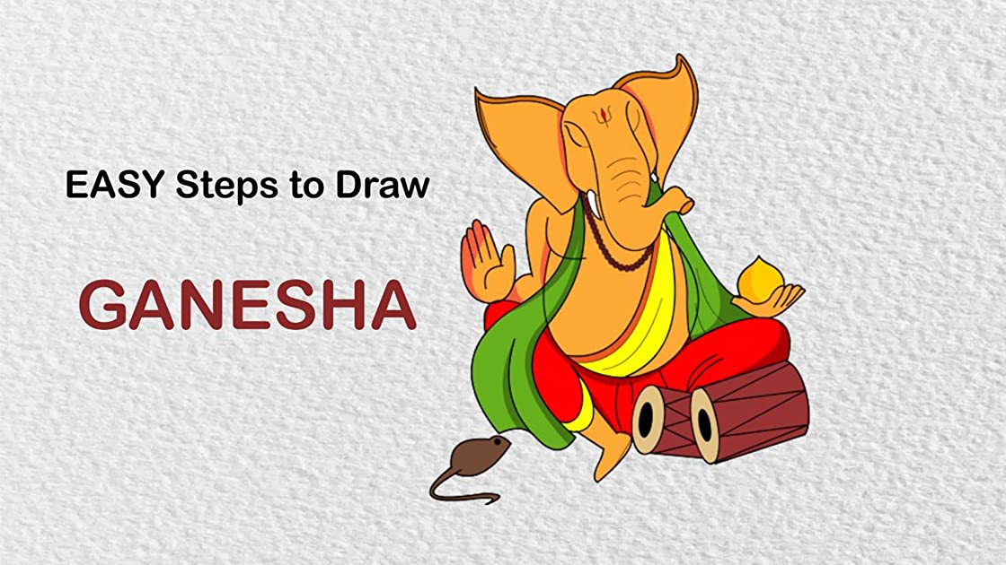 Easy Step To Draw Ganesha