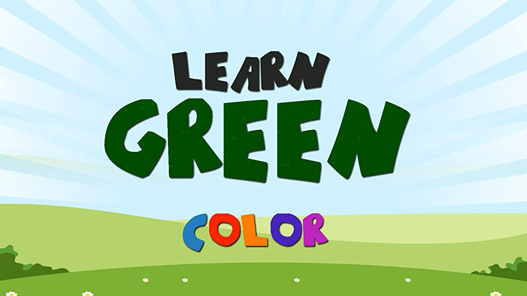 Learn Green Color