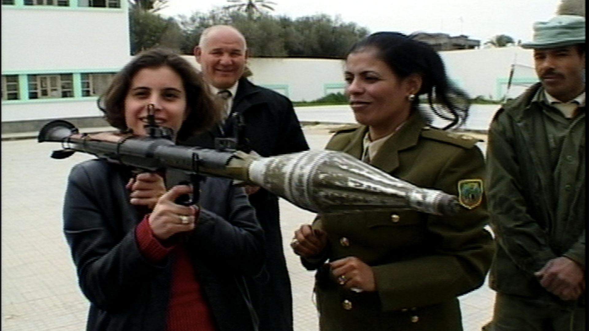 Qaddafi's Female Bodyguards