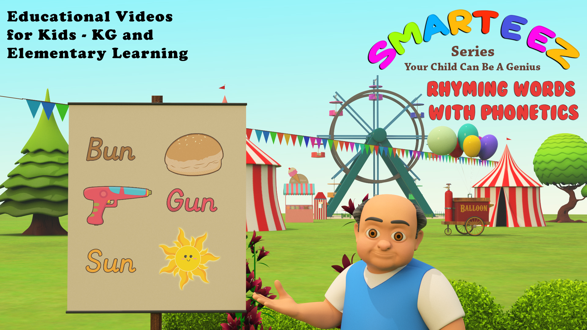 Smarteez Series - Educational Videos for Kids - KG and Elementary Learning on Amazon Prime Video UK