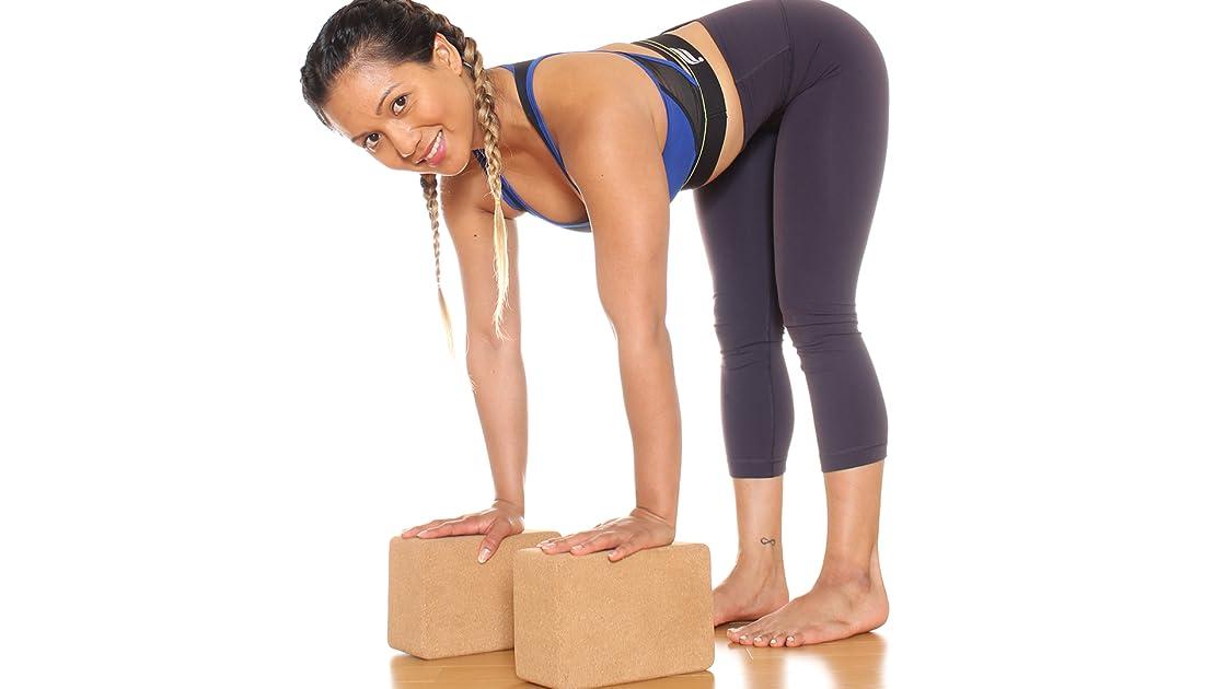 Beginner Yoga With Blocks