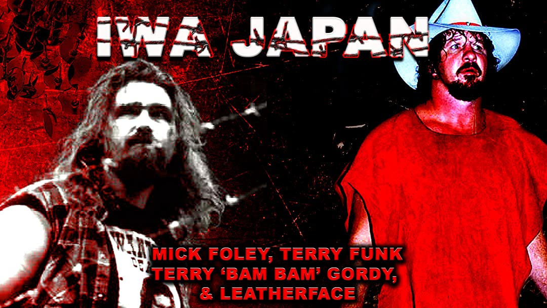 Barbed Wire Terry Funk vs Cactus Jack Collection on Amazon Prime Video UK
