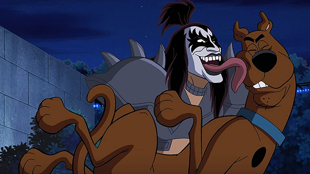 Scooby-Doo! and KISS