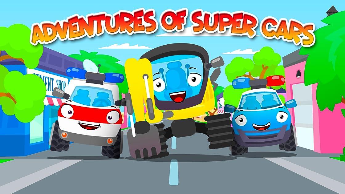 Adventures of Super Cars on Amazon Prime Video UK