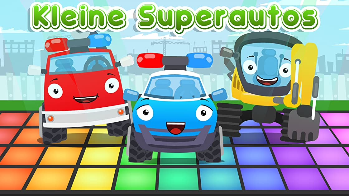 Little Super Cars on Amazon Prime Video UK