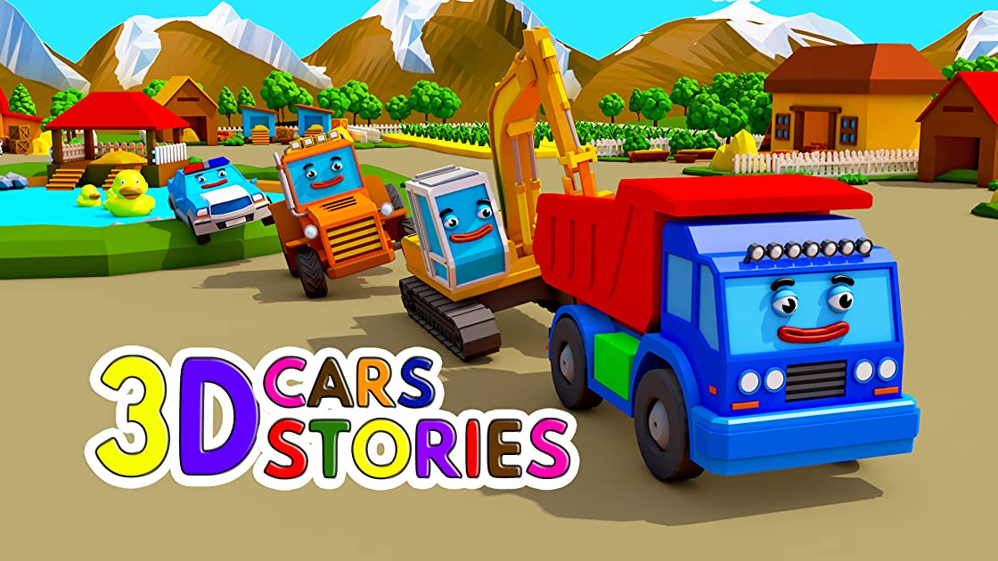 3D Cars Stories - Season 2