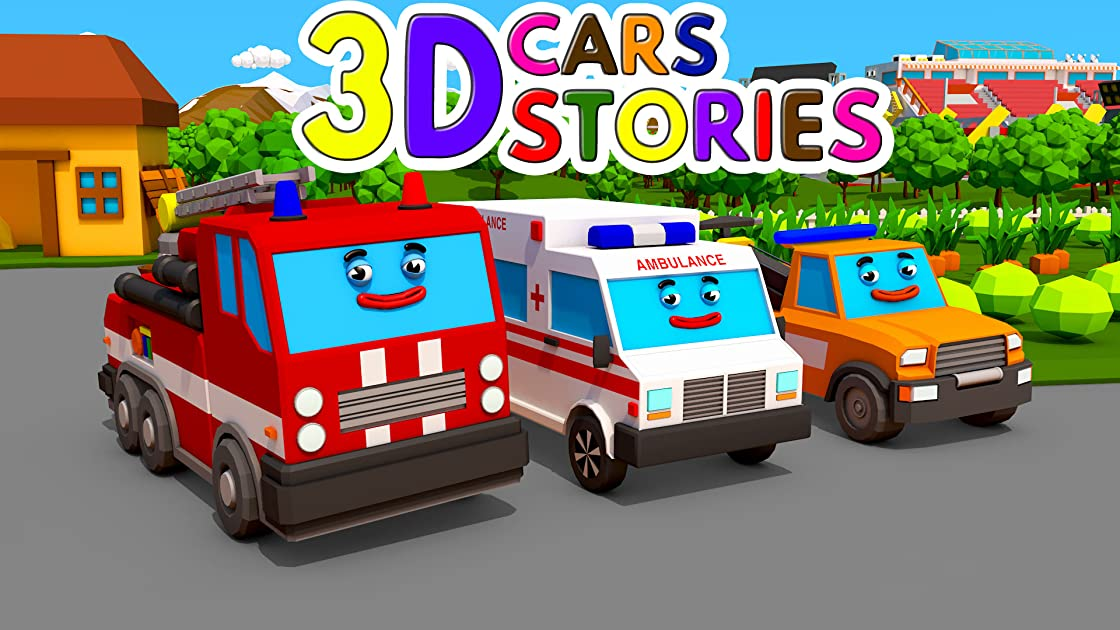 3D Cars Stories - Season 1