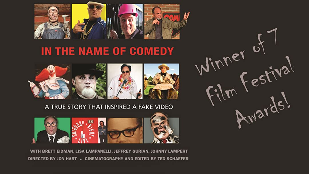 In The Name of Comedy on Amazon Prime Video UK