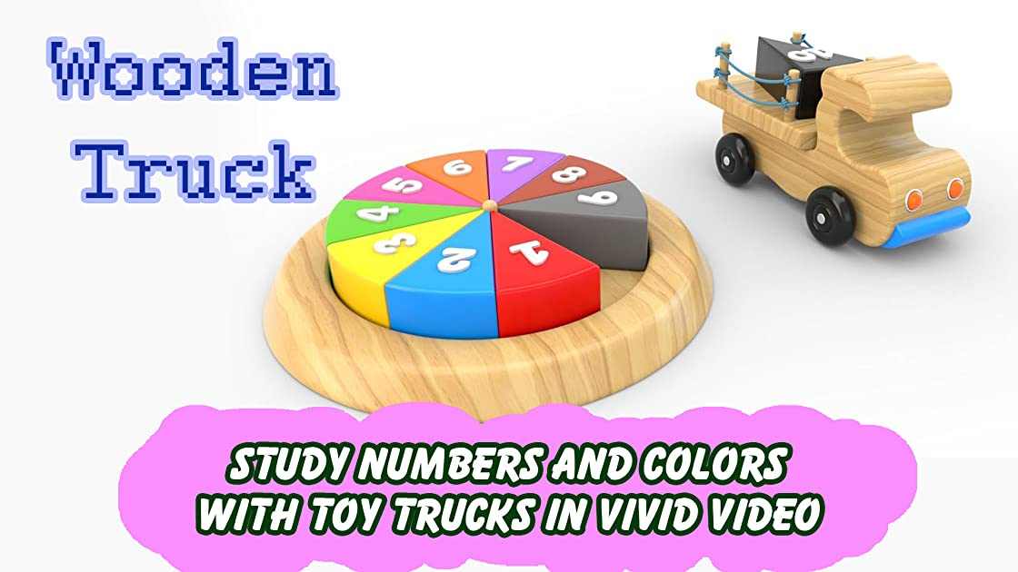Study Numbers and Colors with Toy Trucks in Vivid Video on Amazon Prime Instant Video UK