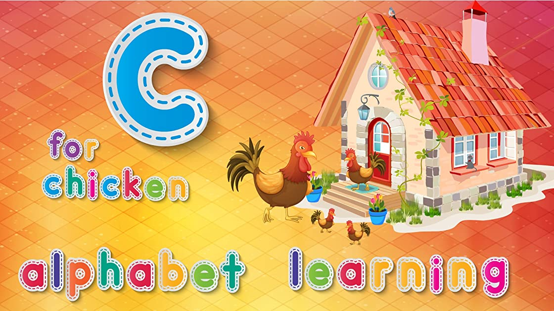 C For Chicken Alphabets Learning