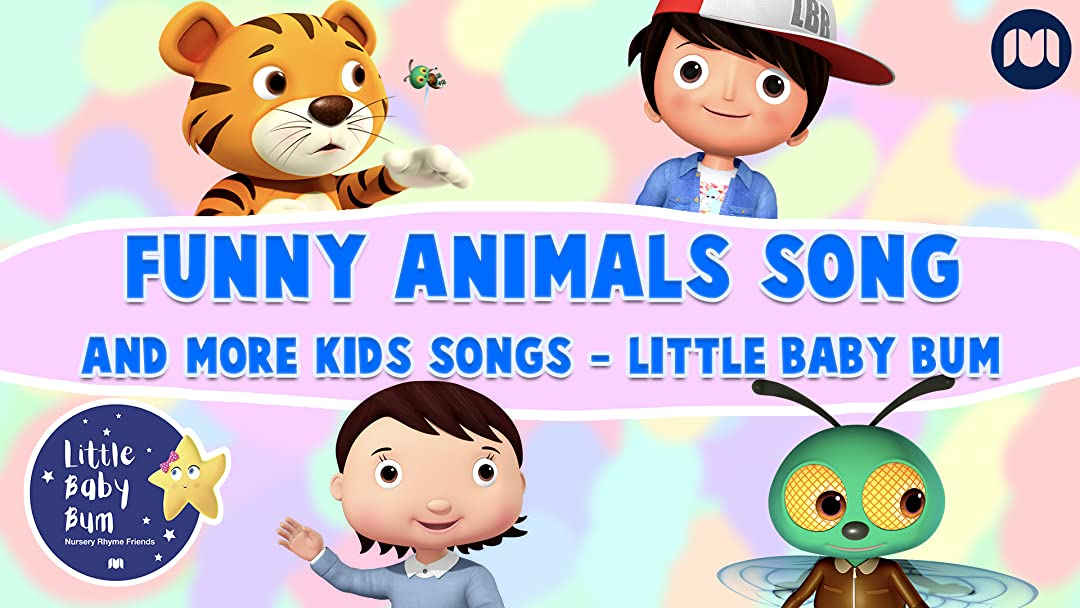 Prime Video: Funny Animals Song and More Kids Songs - Little