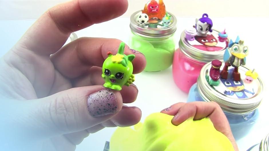 Amazon.com: PJ Masks Slime Surprise Jars Toy Review: Kathy, Jason, Awesome Toys TV