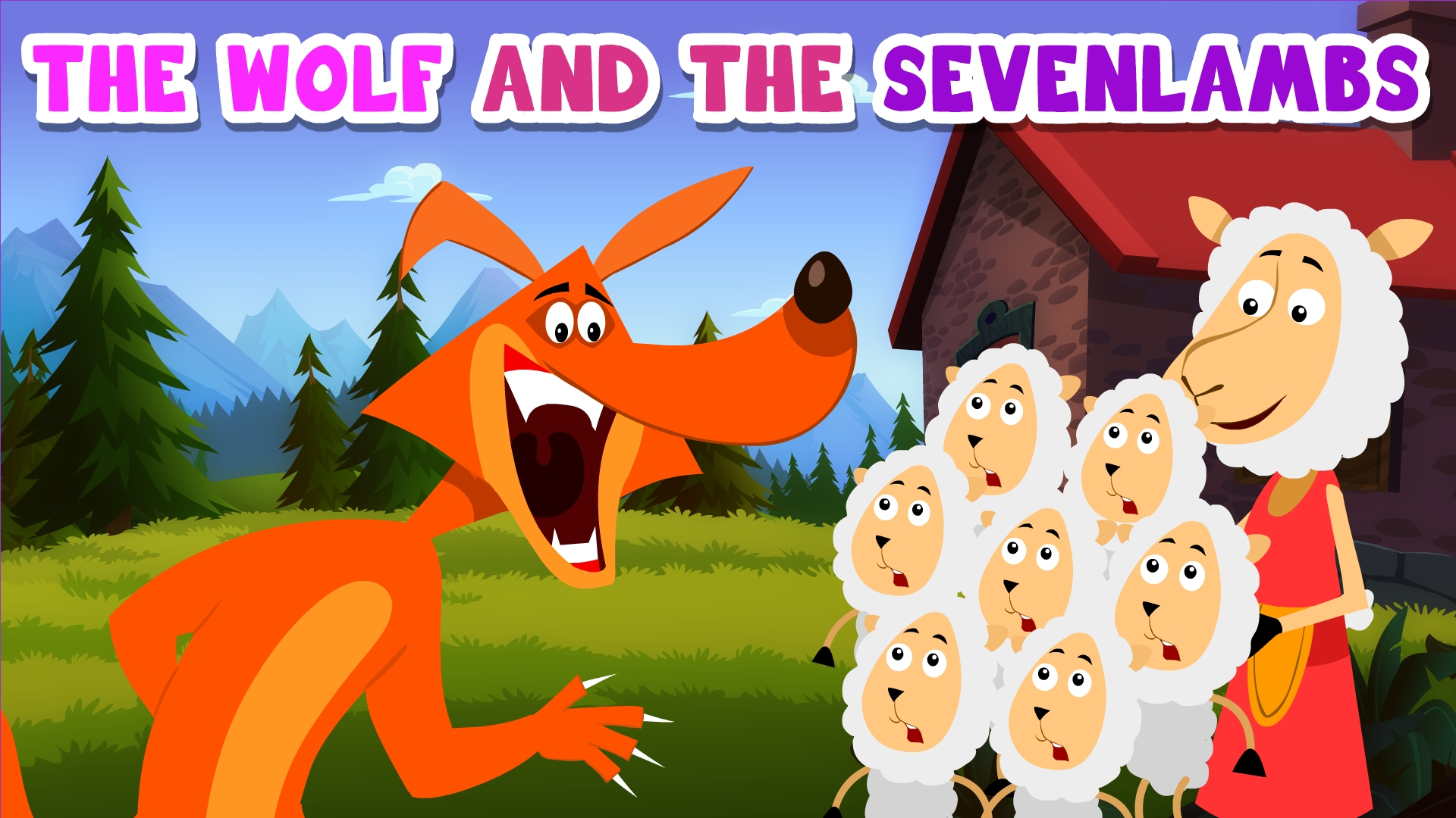 The Wolf And The Seven Lambs