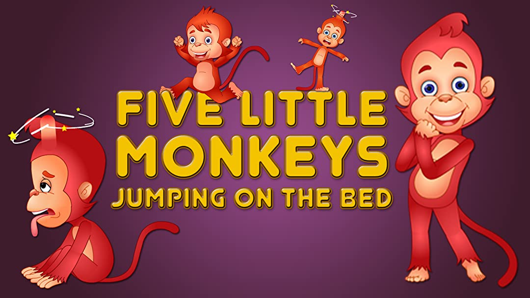 Watch Five Little Monkeys Jumping On The Bed Prime Video