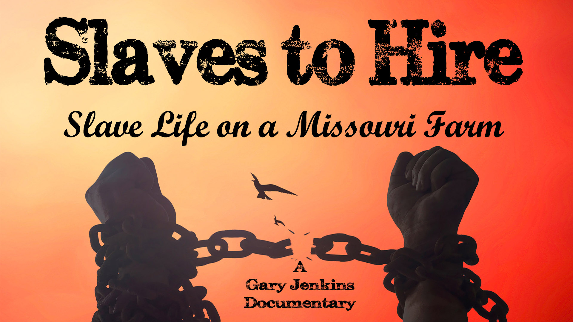 Slaves to Hire: Slave Life on a Missouri Farm