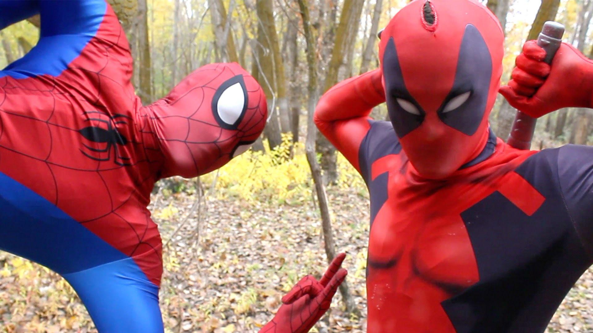 Watch Superheroes In Real Life Sliding Down The Stairs Spiderman Vs Venom Vs Joker Prime Video