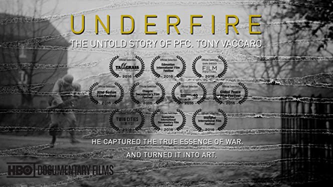 underfire the untold story of pfc. tony vaccaro dvd