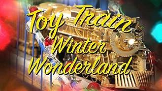 Toy Train Winter Wonderland