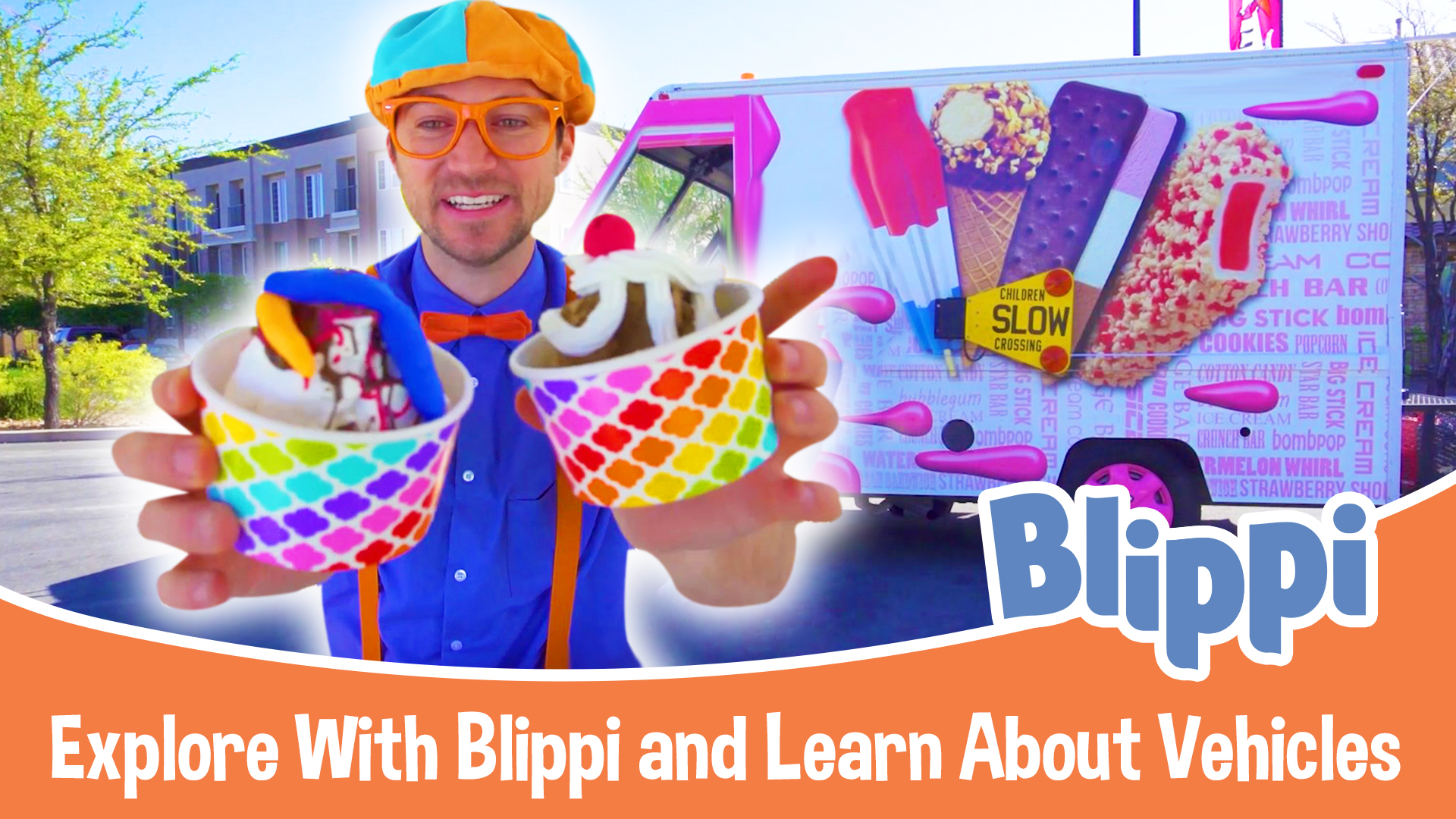 Blippi - Explore With Blippi and Learn About Vehicles