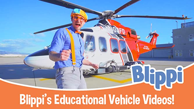 Blippi's Educational Vehicle Videos!
