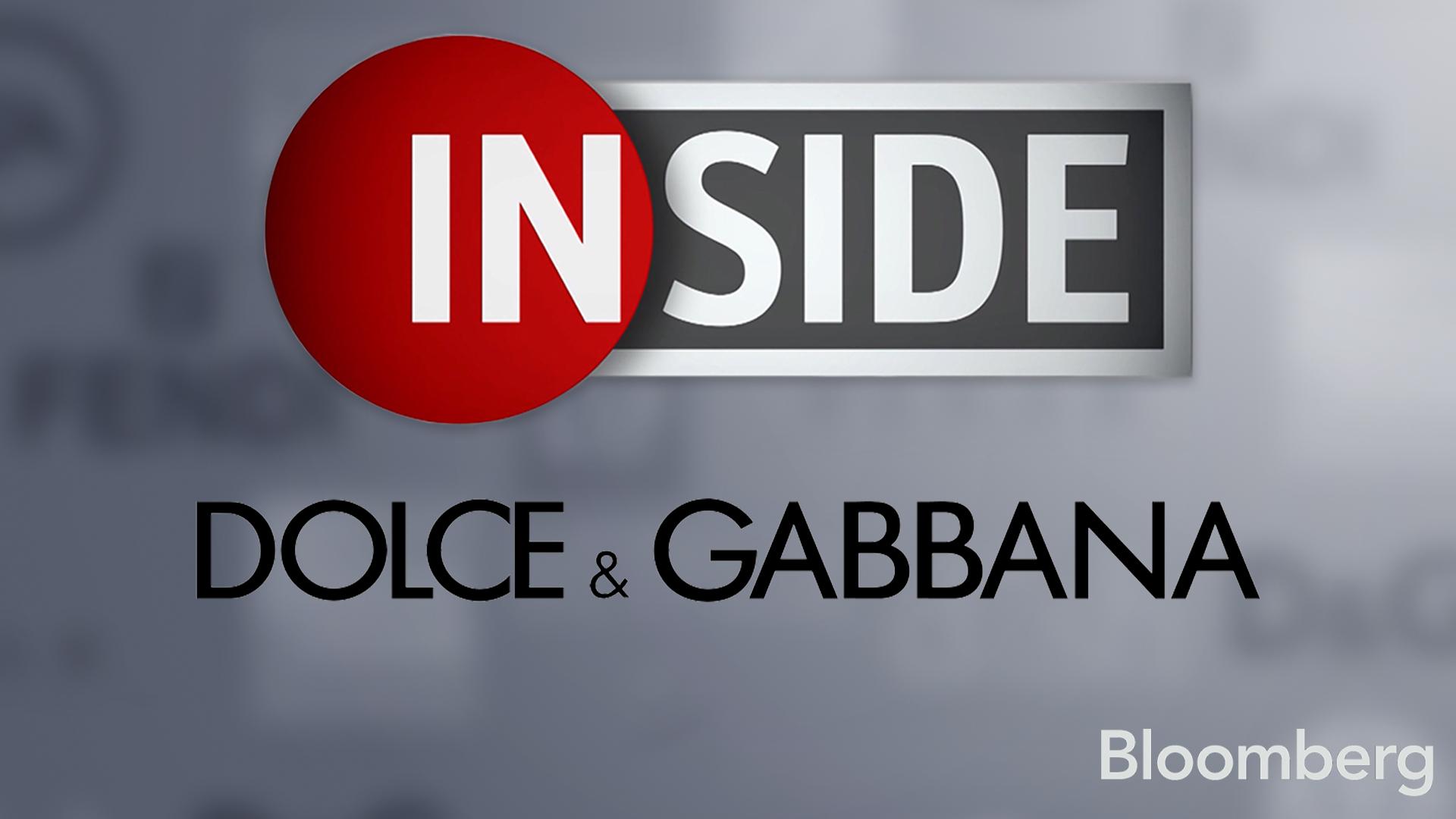 Bloomberg Inside: Dolce & Gabana