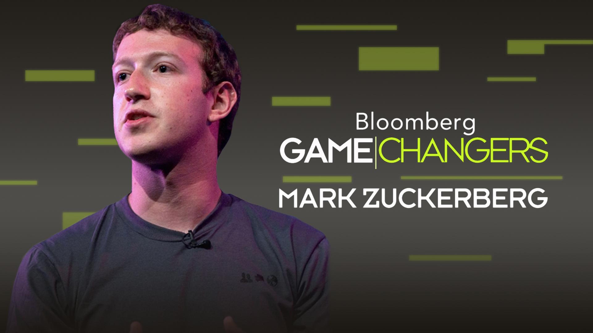 Bloomberg Game Changers: Mark Zuckerberg