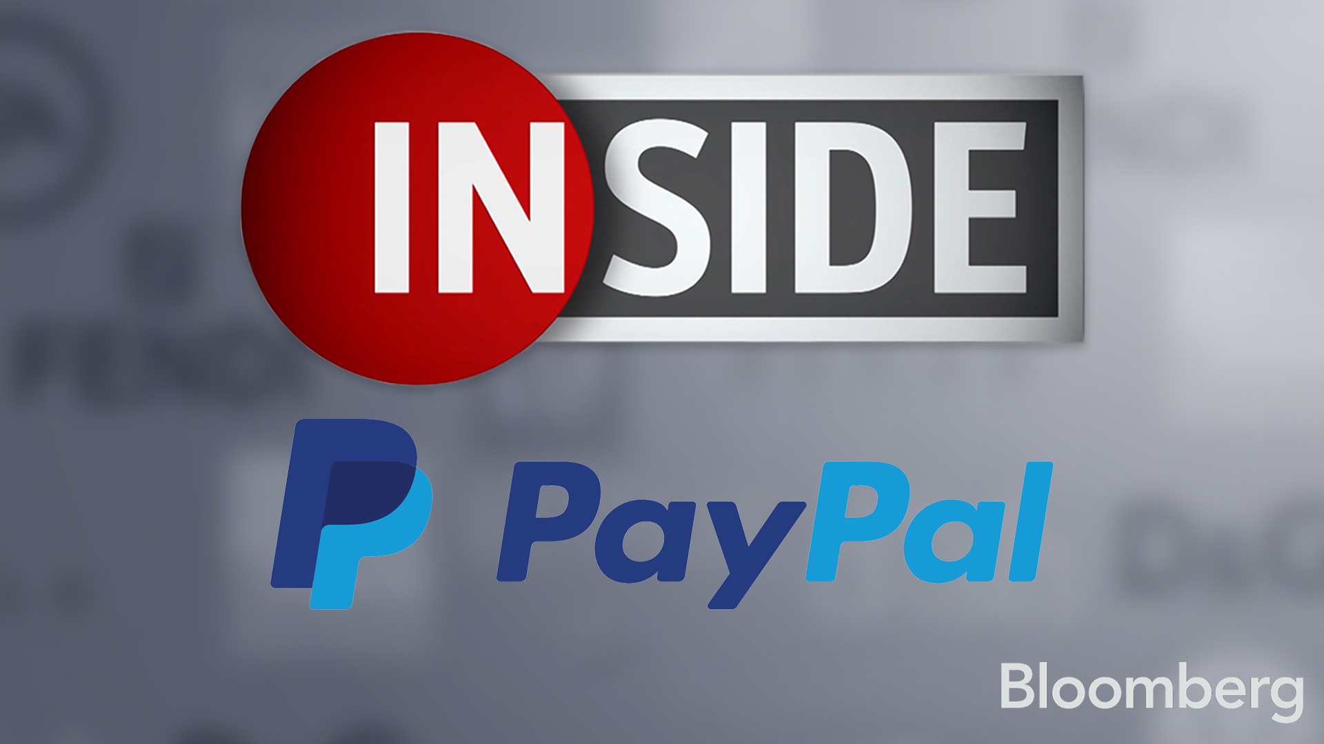 Bloomberg Inside: PayPal