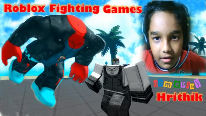 Amazon com: Watch Clip: Roblox Fighting Games - Gameplay Hrithik