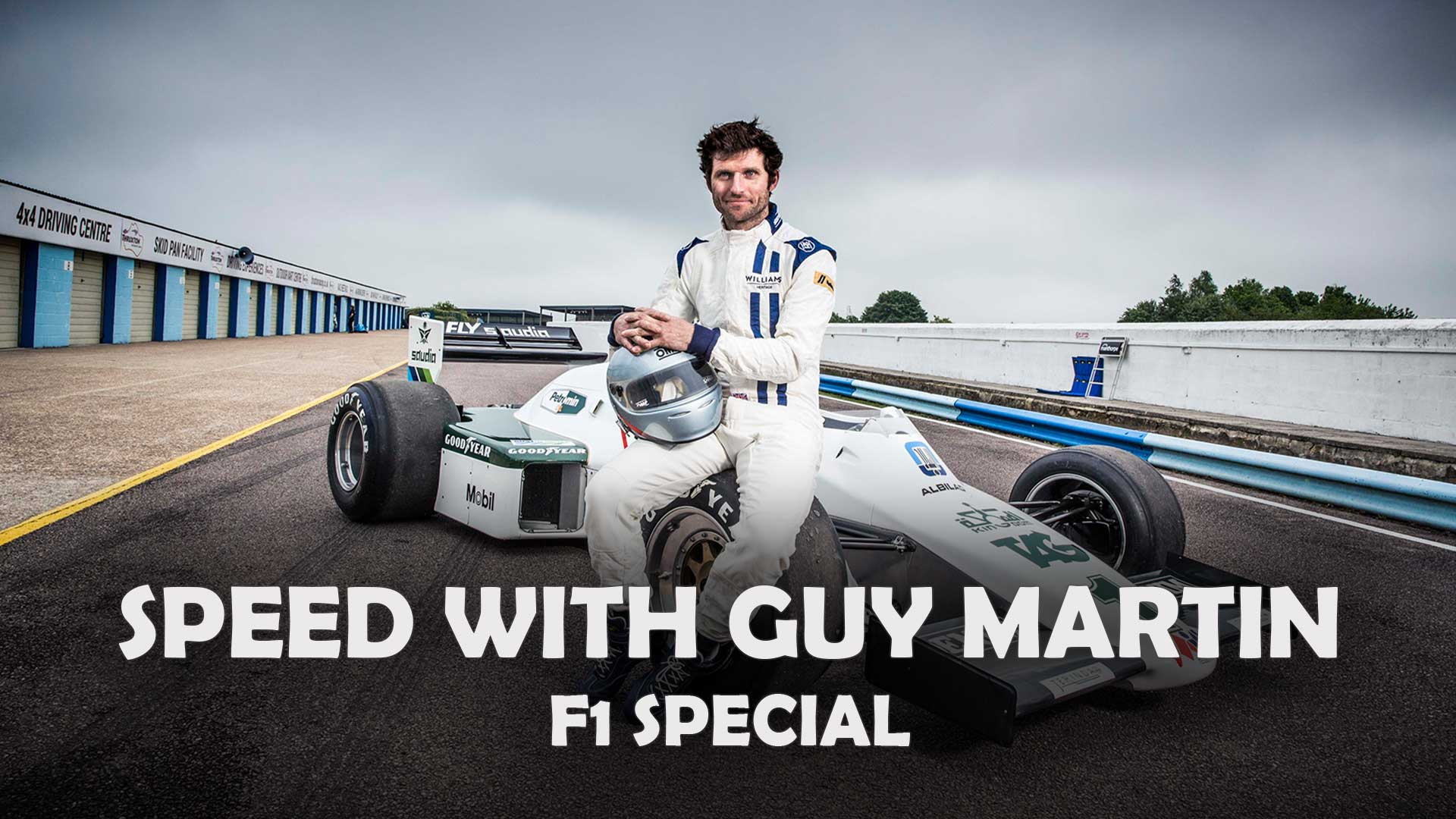 Speed with Guy Martin: Classic F1 Special