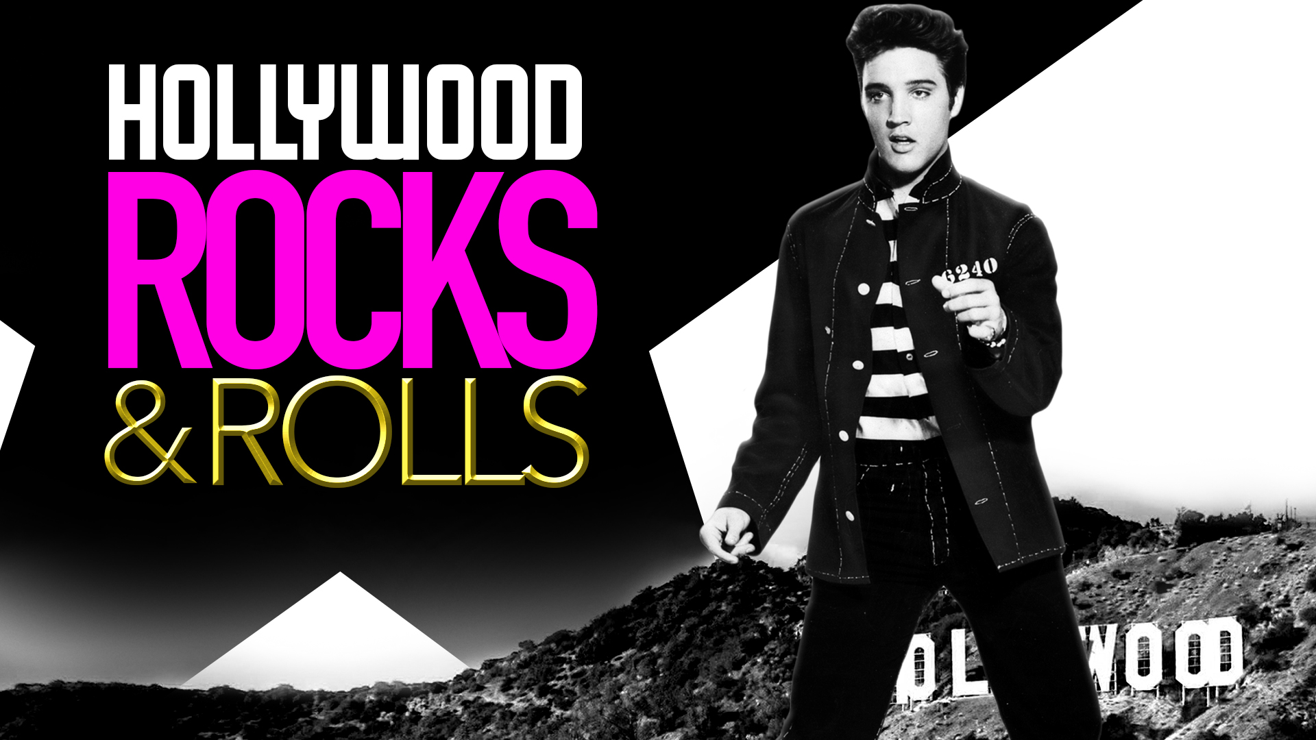 Hollywood Rocks and Rolls in the 50s