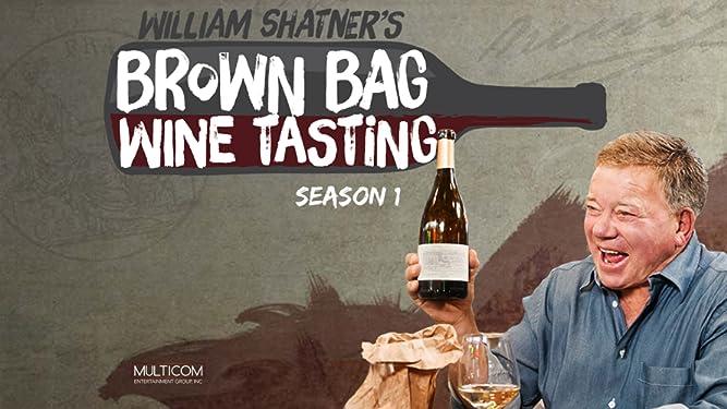 William Shatner's Brown Bag Wine Tasting