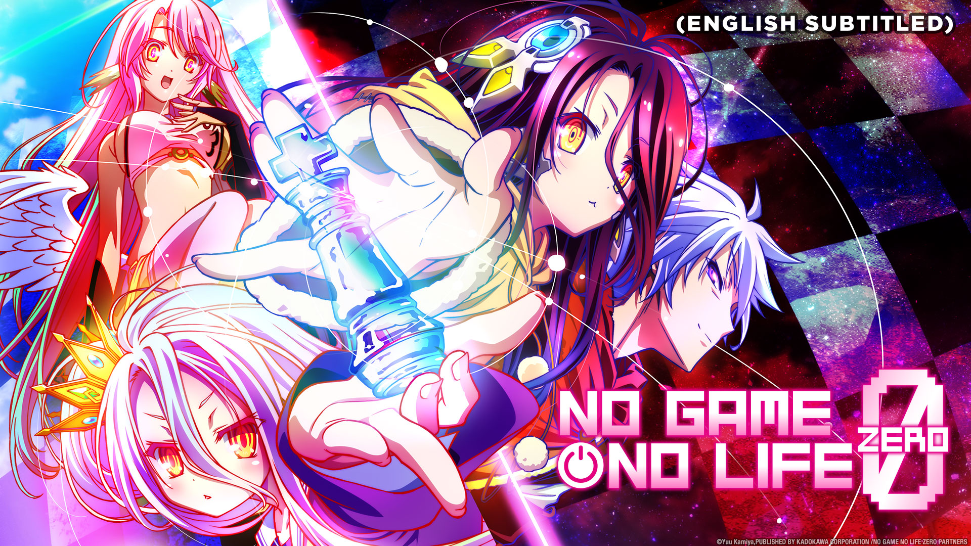 No Game, No Life Zero (English Subtitled)