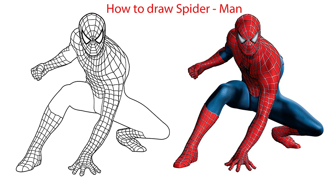 Watch How To Draw Spider Man Prime Video