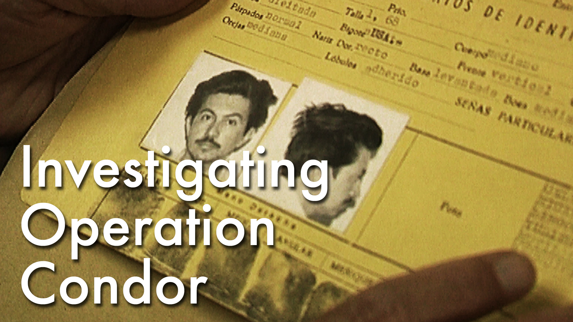 Investigating Operation Condor
