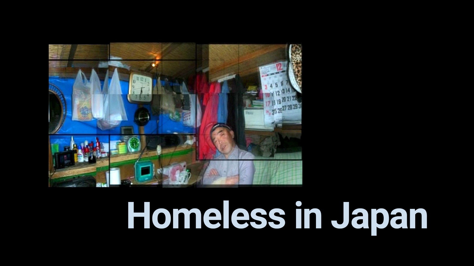 Homeless in Japan
