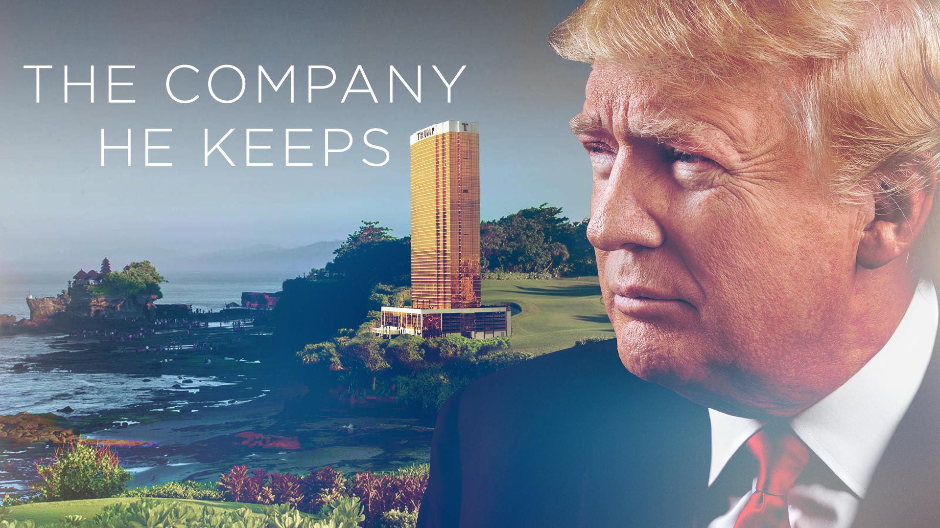 Trump: The Company He Keeps